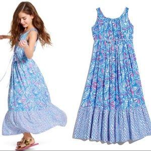 Girl Lilly Pulitzer Target Maxi Dress XL 14-16